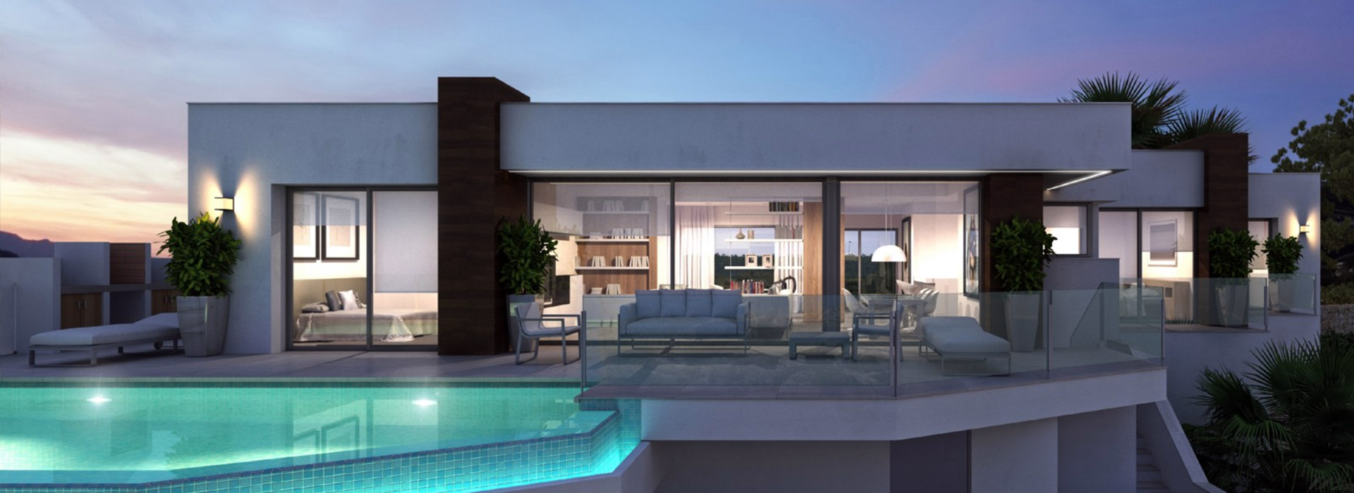 acb.immo - Villa moderne de luxe avec vue mer à Cumbre del Sol, Benitachell