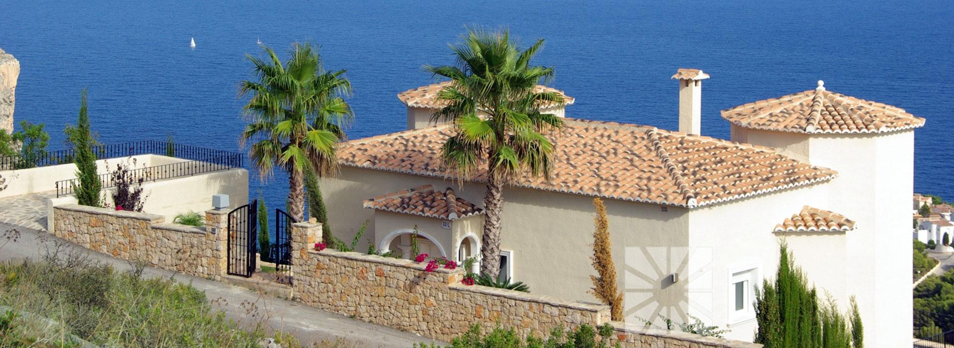 acb.immo - Villa de 3 chambres avec vue mer à Cumbre del Sol, Benitachell