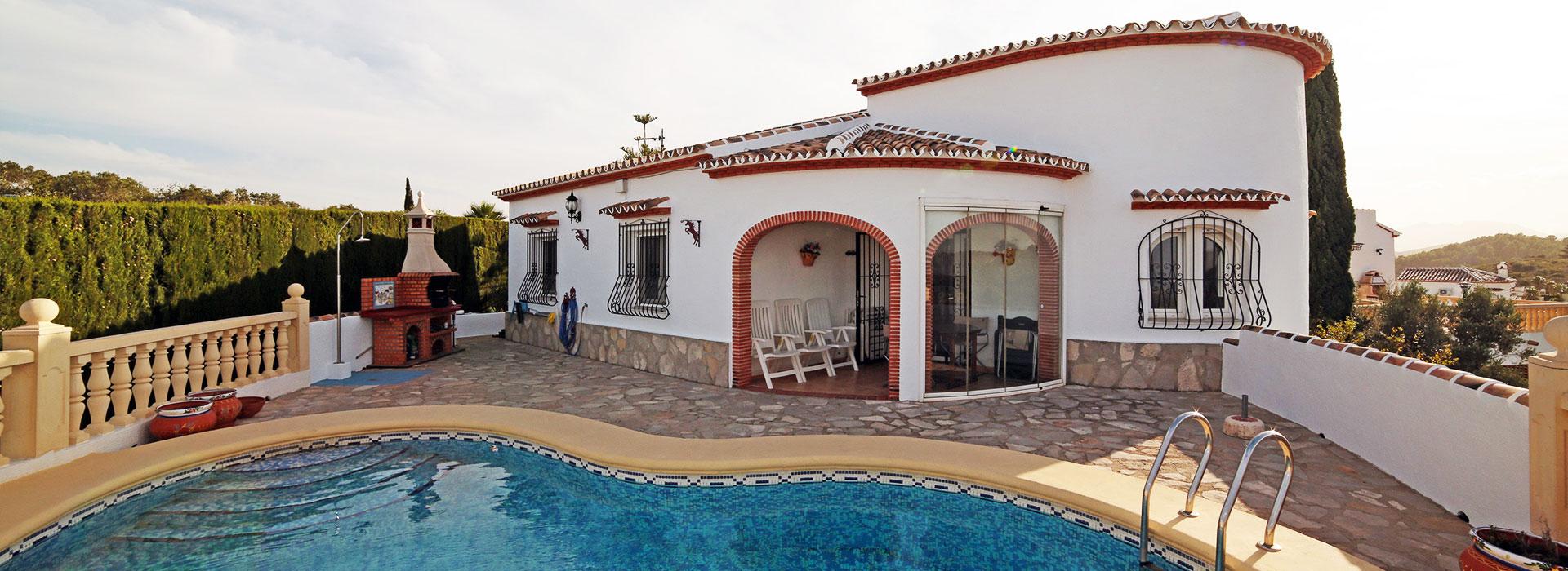 acb.immo - Villa de 3 chambres avec piscine et vue mer à Monte Pedreguer, Dénia
