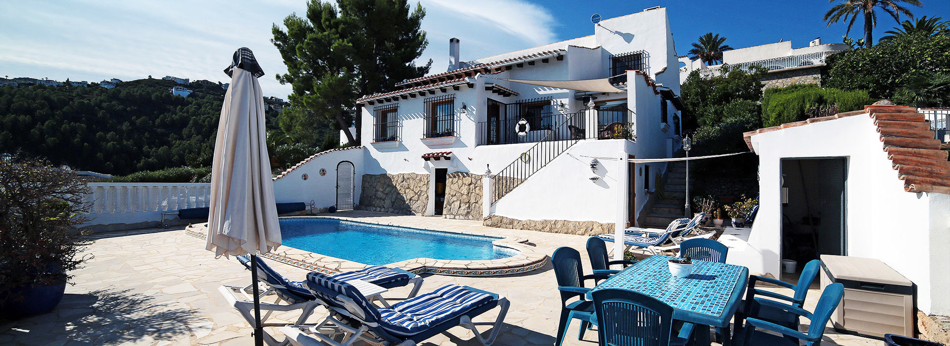 acb.immo - Villa de 4 chambres avec vue mer panoramique à Monte Pego, Dénia