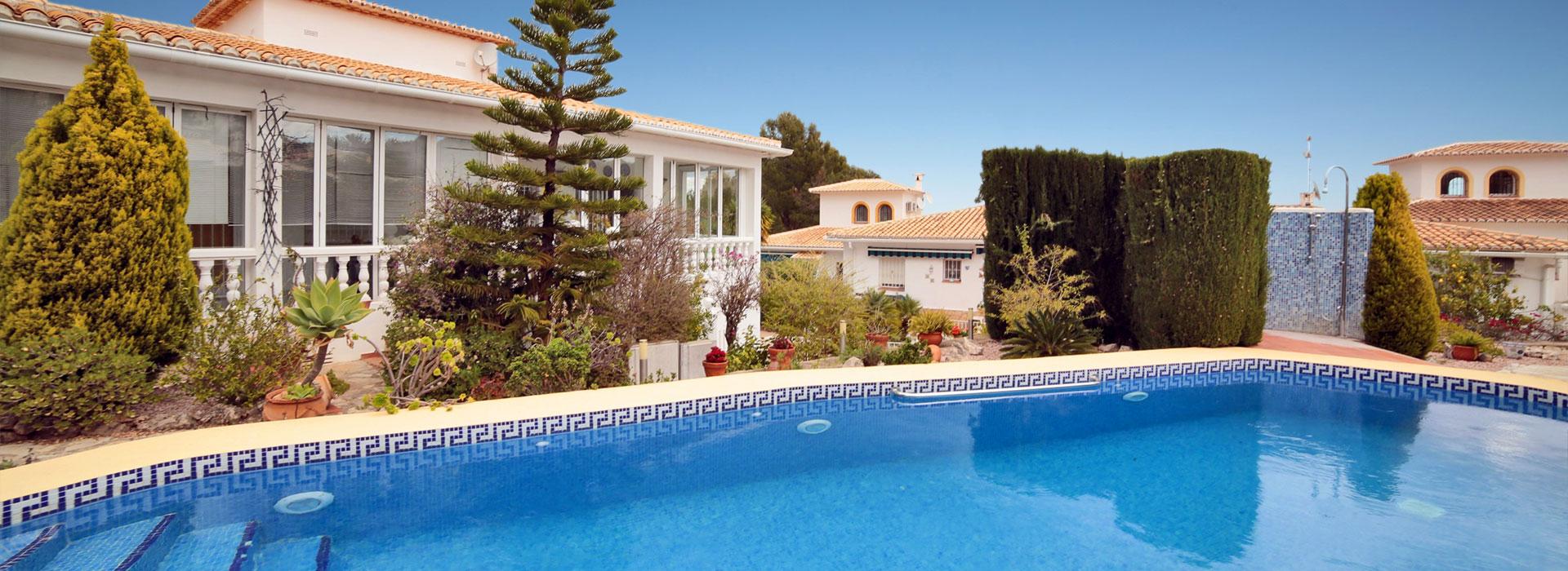 acb.immo - Charmante villa mitoyenne de 3 chambres avec appartement indépendant à Rafol d'Almunia, Denia