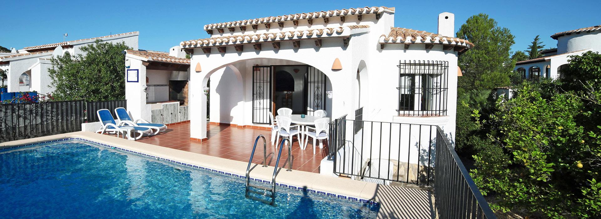 acb.immo - Villa de plain-pied avec 3 chambres et piscine à Monte Pego, Denia