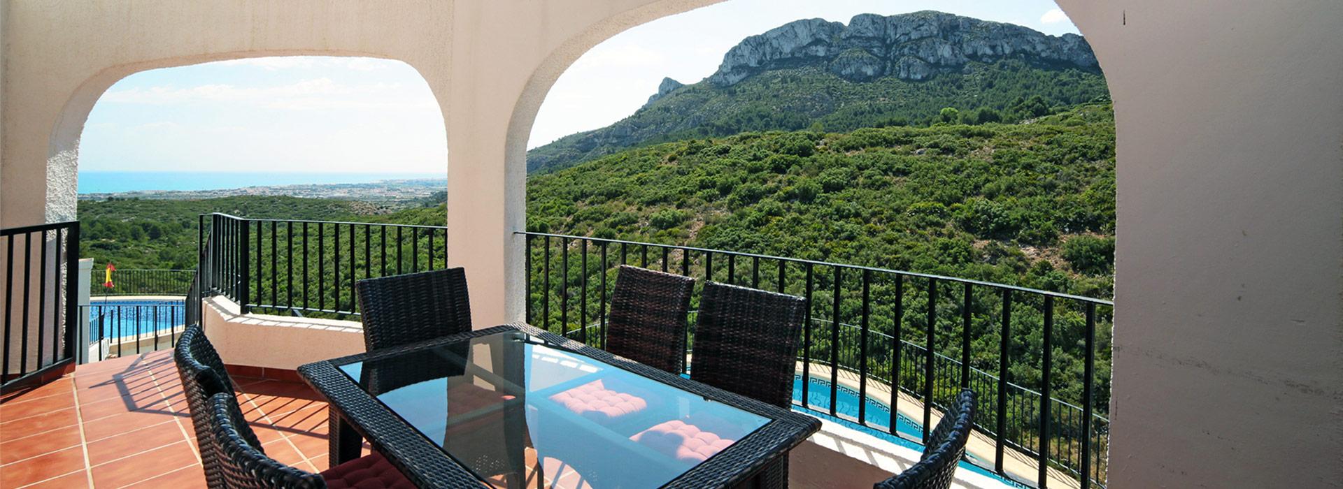 acb.immo - Villa de 3 chambres avec piscine et vue mer à Monte Pego, Denia