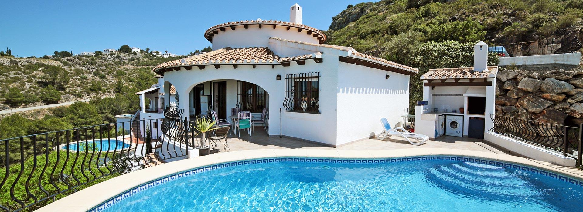 acb.immo - Villa de 4 chambres avec piscine et vue mer à Monte Pego, Denia