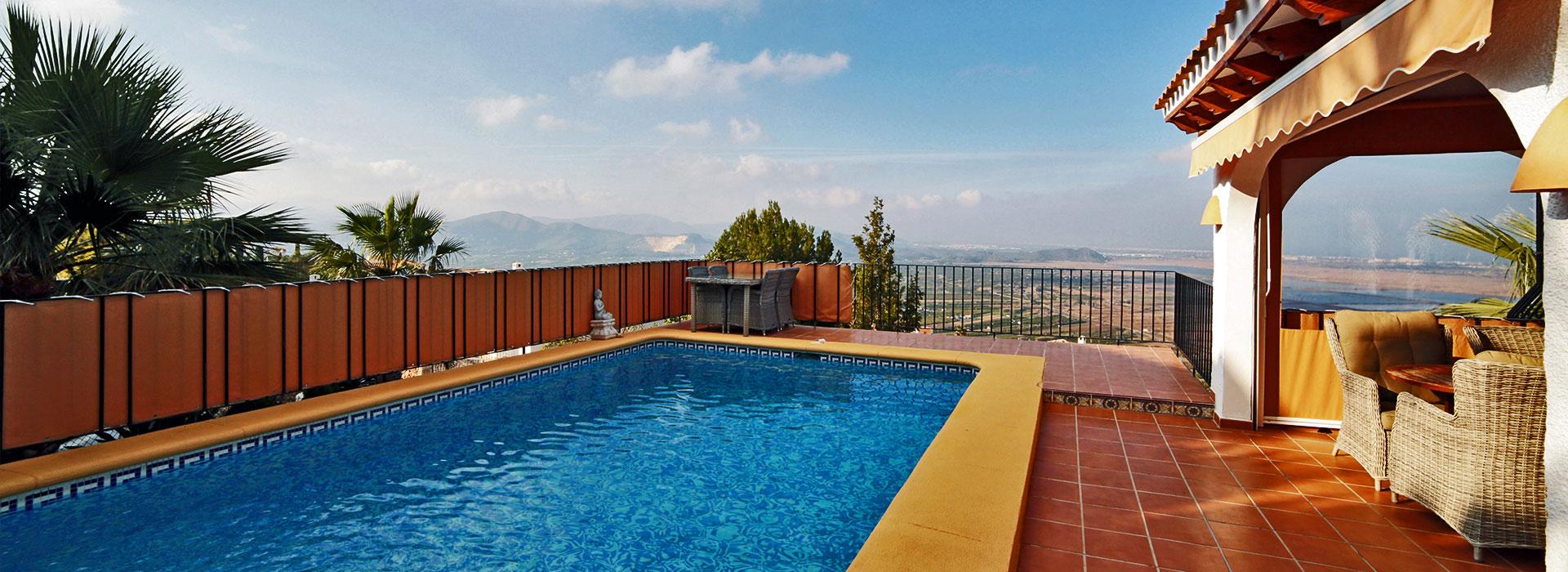acb.immo - Villa de 4 chambres avec vue mer et studio séparé à Monte Pego, Denia