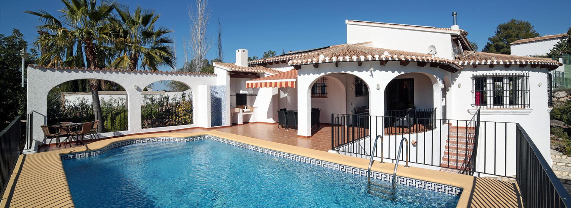 acb.immo - Grande villa de plain-pied avec 4 chambres à Monte Pego, Denia