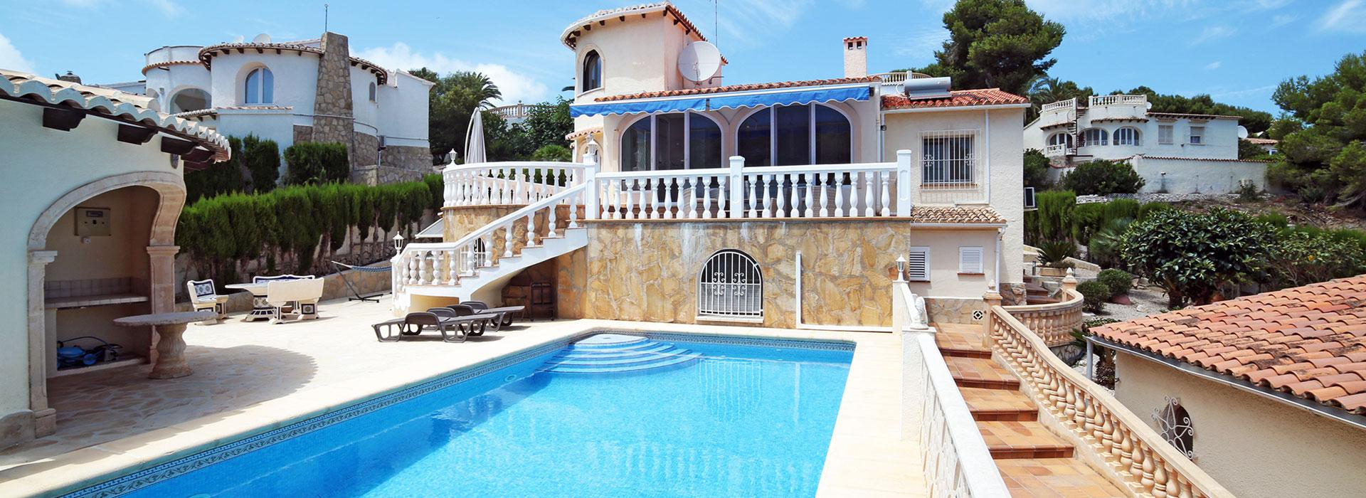 acb.immo - Villa de 4 chambres avec appartement séparé et piscine à Javea