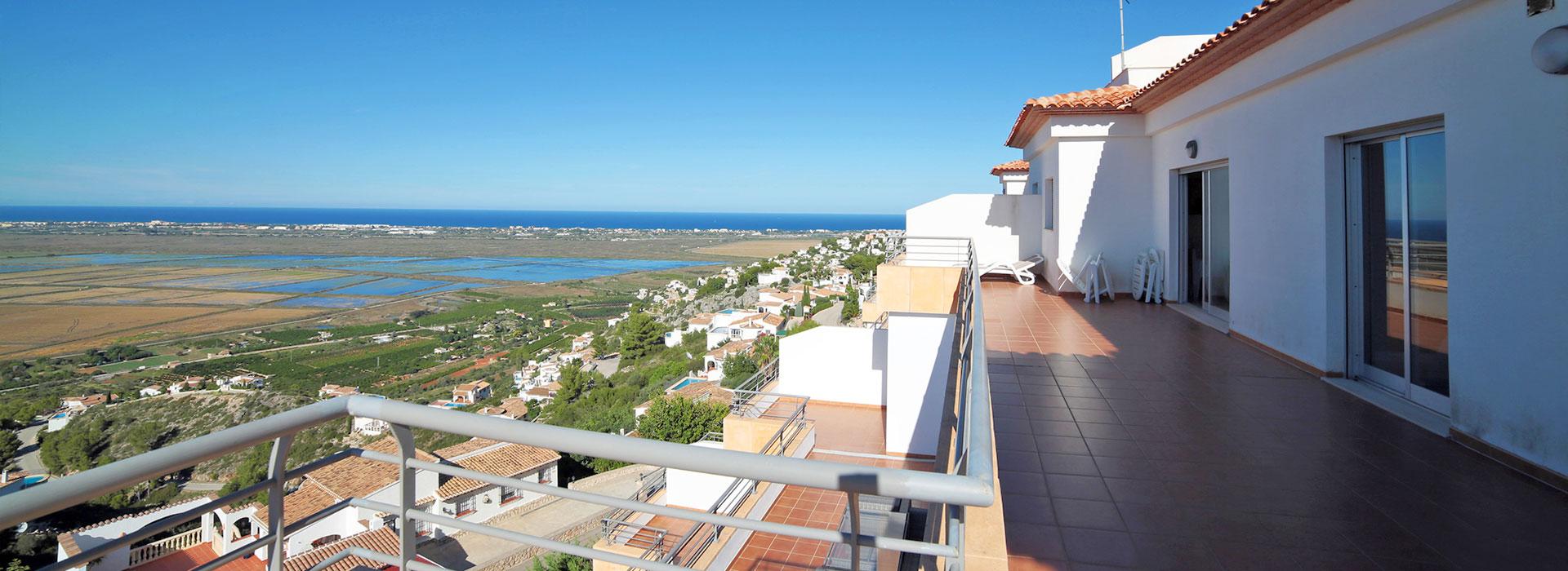 acb.immo - Appartement de 3 chambres avec grande terrasse et solarium à Monte Pego, Dénia