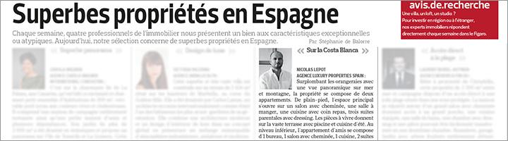 Superbes propriétés à vendre en Espagne sur la Costa Blanca - Le Figaro