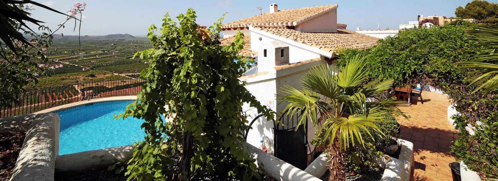 acb.immo - Villa de 4 chambres avec appartement séparé, piscine et vue mer à Monte Pego, Dénia