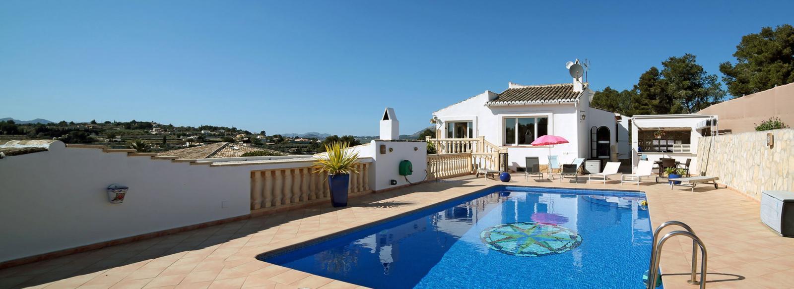 acb.immo - Villa de 8 chambres avec piscine à Javea