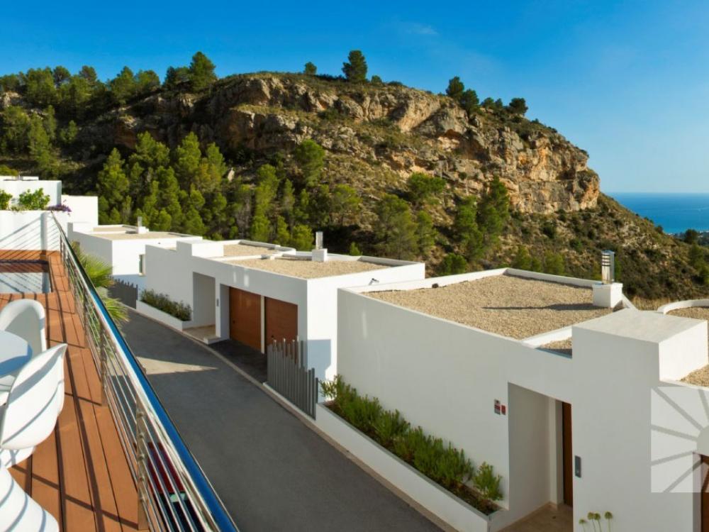 acb.immo - Villa moderne de luxe avec vue mer à Altea