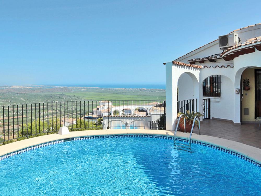 acb.immo - Belle villa de 3 chambres avec piscine privée et vue mer à Monte Pego, Denia