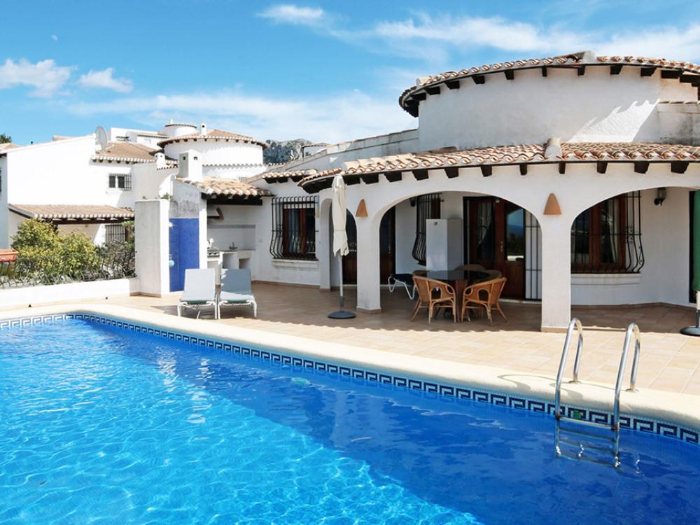 acb.immo - Villa de 3 chambres avec vue mer panoramique à Monte Pego, Denia